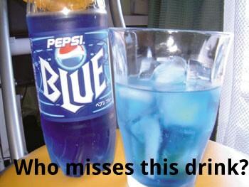 Pepsi blue - meme
