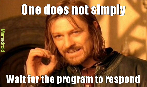 my program - meme