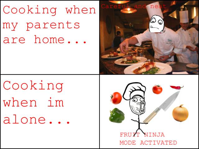 Cooking Rage - meme