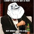Forever Alone Getting A Text