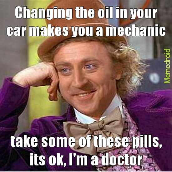 doctor and mechanic - meme