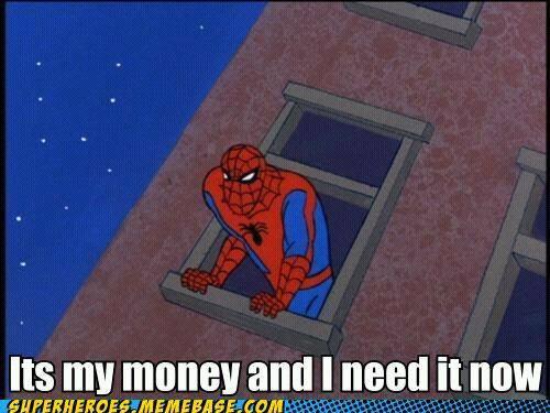 spider man is poor meme subido por thisperson memedroid