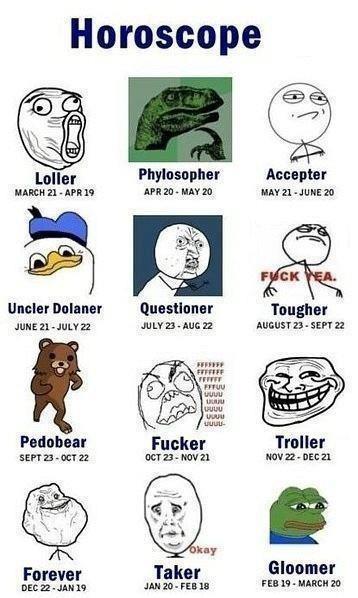 zodiac memes