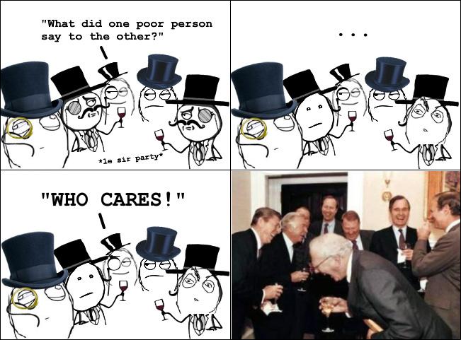 Rich people get it... - meme