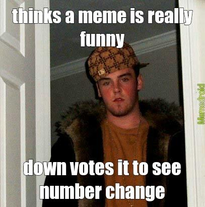 down votes funny pic - meme