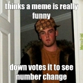 down votes funny pic