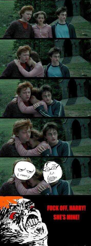 Freakin' Harry. - meme