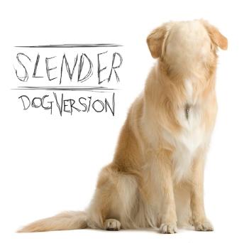 Slender Dog - meme