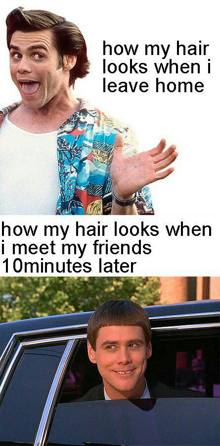 my hairstyle - meme