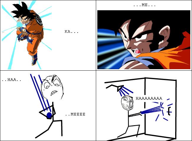 Dragon ball z is teh best. - meme