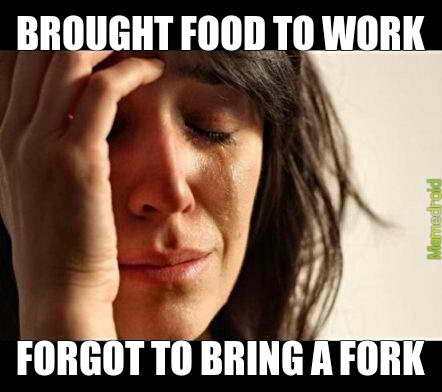 lunch problems - meme