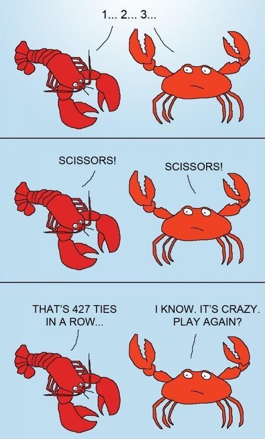 5083f80d1f156 crab vs lobster meme by itskathy ) memedroid