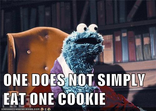 one cookie - meme