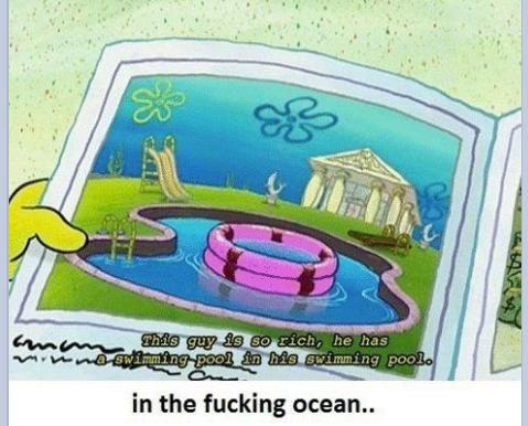 spongebob logic.. - meme