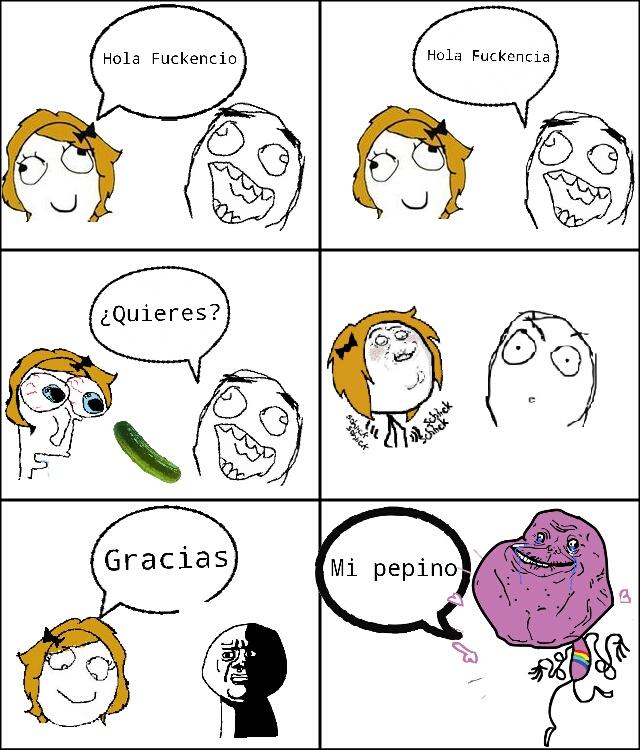 El Pepino - meme