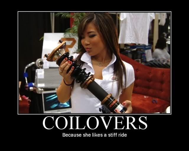 Mmmmmm coilovers! - meme