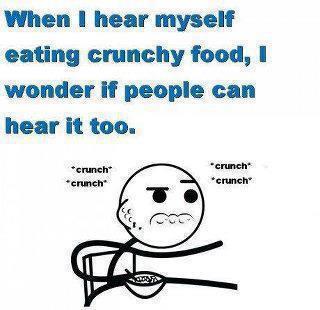 Crunchy Food - meme